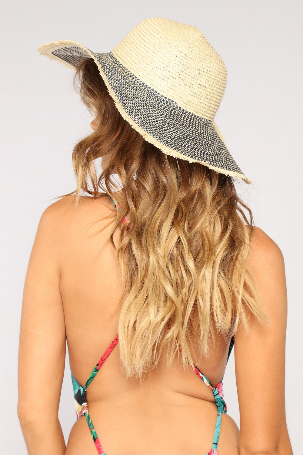 Block Them Out Sun Hat - Ivory