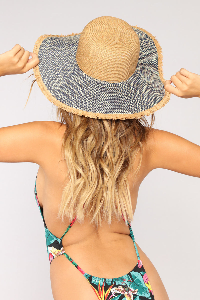 Block Them Out Sun Hat - Tan