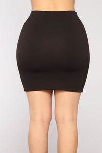 Marilyn Mini Skirt - Black