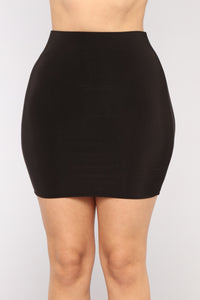 Kaden Skirt Set - Black
