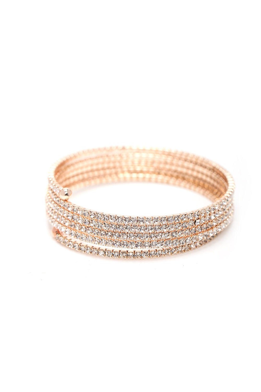 Round And Round Bracelet - Rose Gold