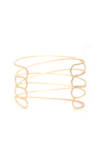 Beverly Layered Cuff - Gold
