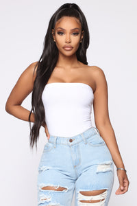 Times Up Bodysuit - White