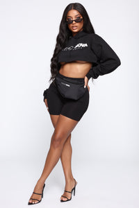 Fashion Nova Fanny Pack - Black Angle 4