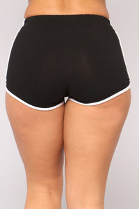 Not A Basic Bae Dolphin Shorts - Black Angle 4