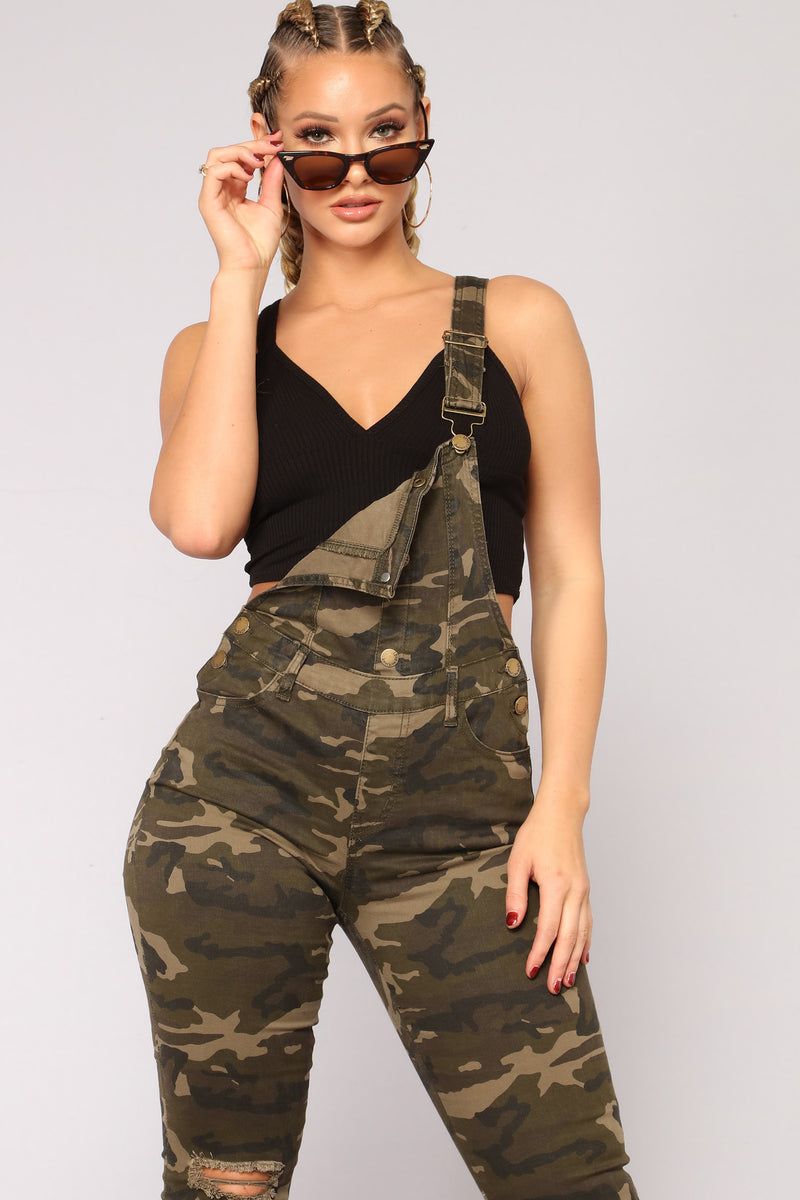 Stake Out Overalls - Camo