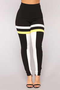 Keep Track Colorblock Set - Black/Yellow