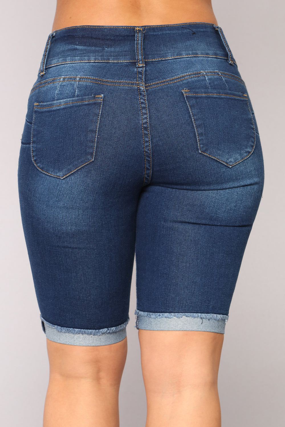 You Need Me Bermudas - Dark Denim