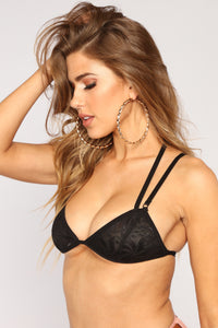 Sweet Misery Bralette - Black