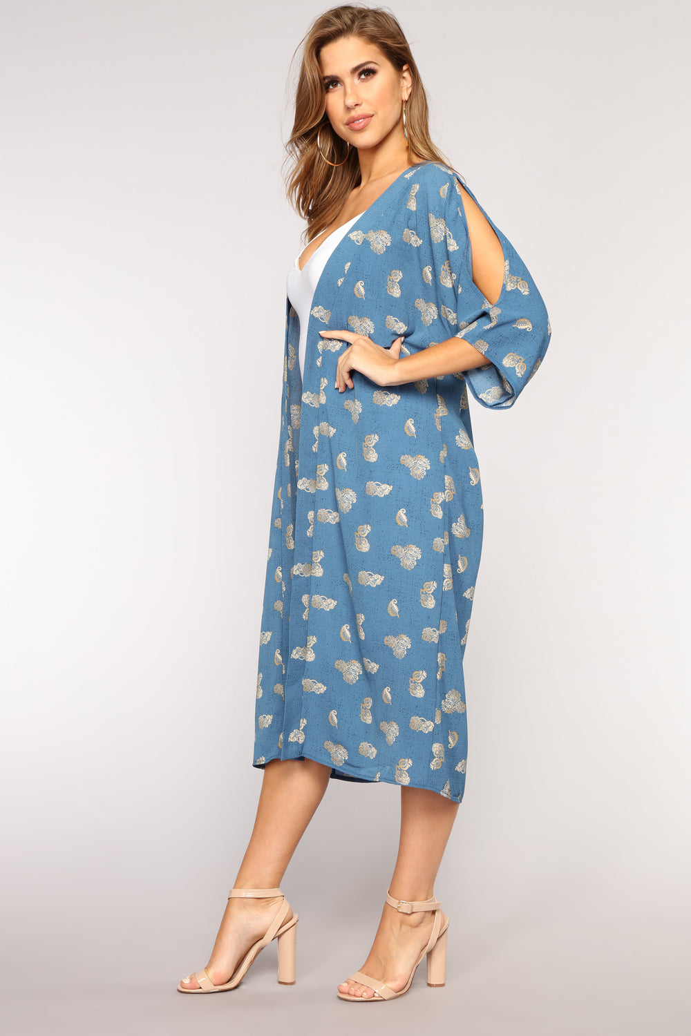 Now and Zen Kimono - Blue