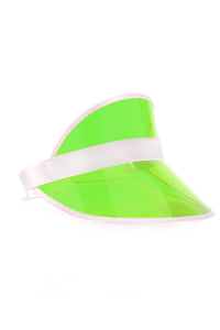 See Right Through Visor - Green