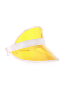 See Right Through Visor - Yellow