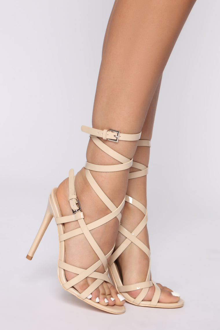 Takes Two Heeled Sandals - Nude