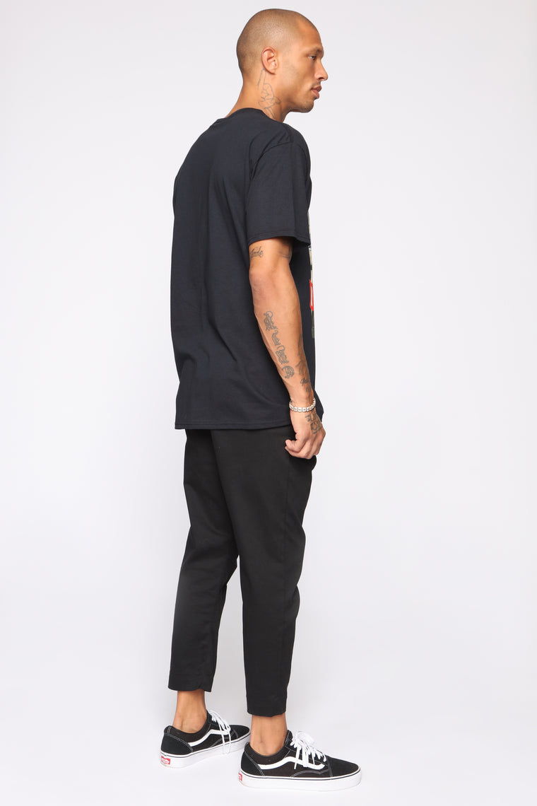 Fire And Desire Short Sleeve Tee - Black/combo