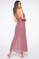 Texting My Ex Maxi Dress - Mauve