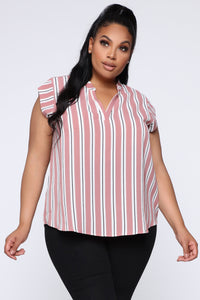 Busy Boss Lady Top - Pink