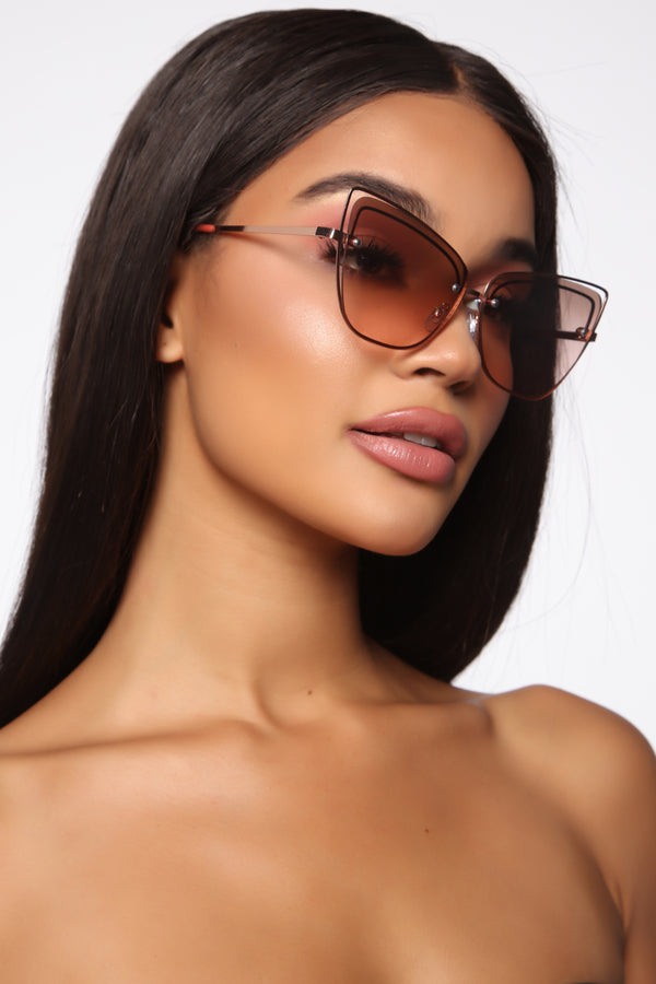 fd9e05b1f96 Move It Or Lose It Sunglasses - Rose Gold