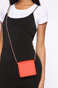Brighten My Way Crossbody Bag - Orange