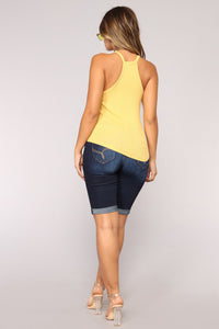 Always Basic Tank - Mustard