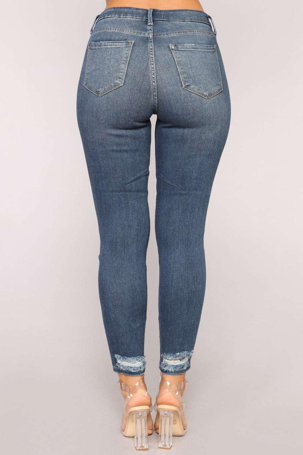 All About Me Skinny Jeans - Dark Denim
