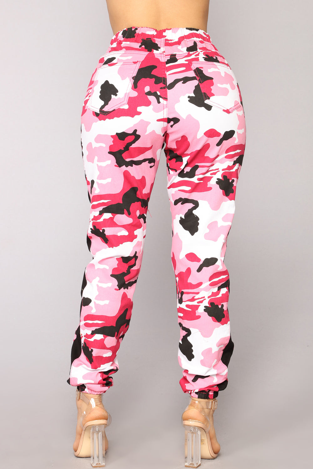 Cadet Kasey Cargo Joggers - Pink