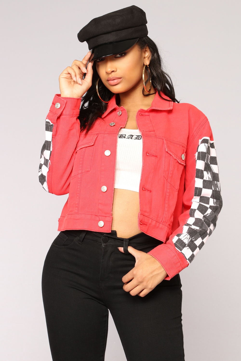 Race To The Finish Jacket - Red