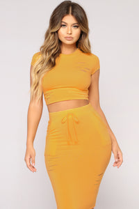 Casual Lover Top - Yellow