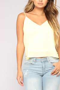 Sweet Envy Top - Yellow Angle 2