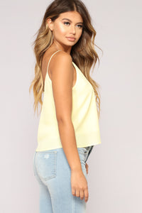 Sweet Envy Top - Yellow Angle 3
