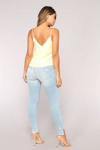 Sweet Envy Top - Yellow Angle 5