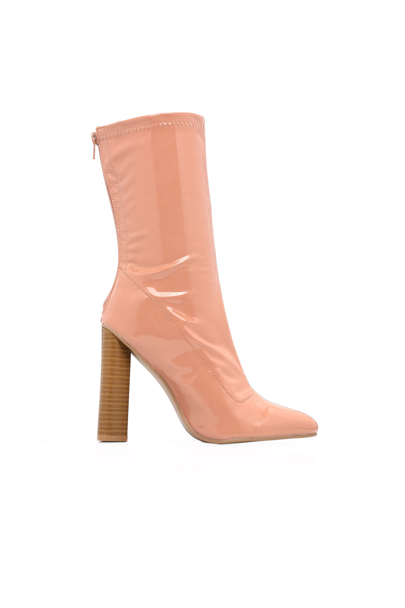 Camille Booties - Blush