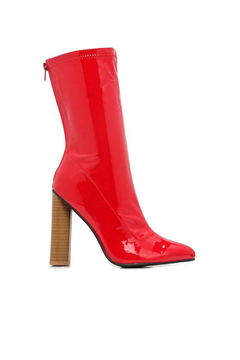 Camille Booties - Red