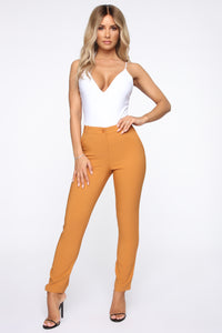 Love At First Sight Pants - Brown