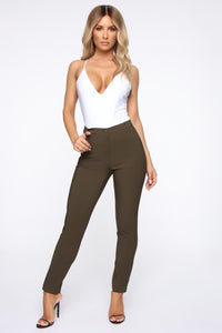 Love At First Sight Pants - Olive