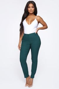 Love At First Sight Pants - Green