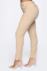 Love At First Sight Pants - Khaki