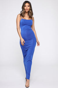 Kiki Maxi Dress - Royal