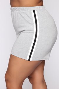 Rookie Of The Year Short Set - Grey