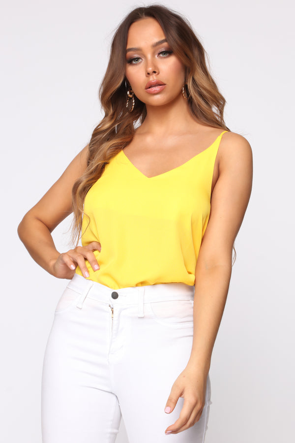 5ffea332c87 Your Essential Cami - Yellow