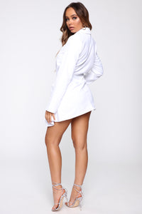 Business Calls Blazer - White Angle 4