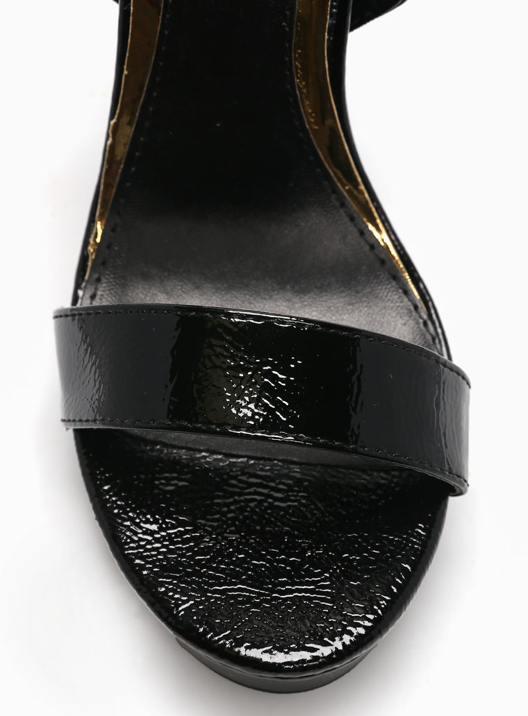 Not A Fool Heel - Black