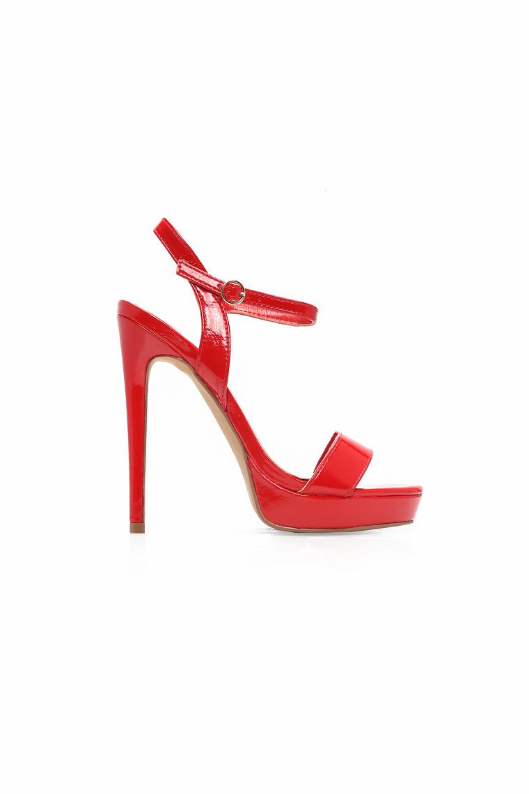 Not A Fool Heel - Red