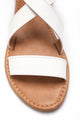 No Hiding Sandal - White