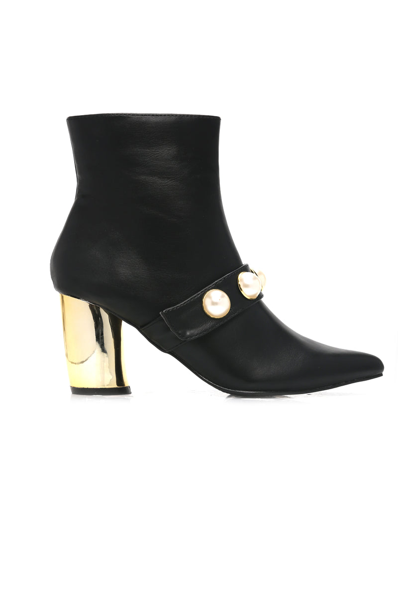 Teach You To Dream Bootie - Black
