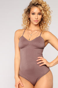 Perfect Day Bodysuit - Mauve