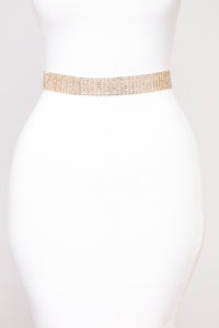 Veronica Coin Chain Belt - Gold