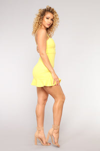 Sefina Dress - Yellow