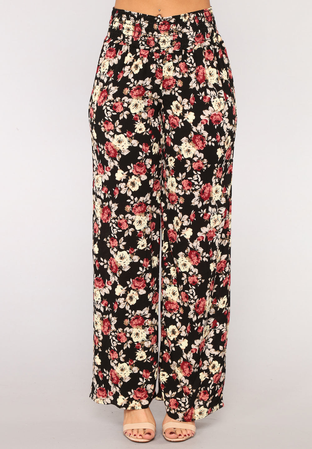 Your New Favorite Print Pants - Black/White
