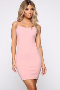 Jianna Mini Dress - Mauve