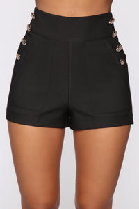 Brunch Club Shorts - Black
